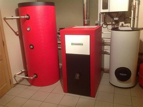 pellet bio heating