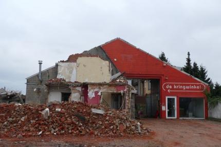 kringwinkel Lochristi afgebroken