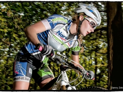 Mountainbiken met Alicia Franck
