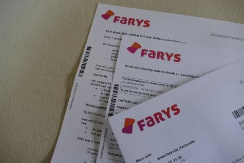 Farys heeft een nieuwe watertariefstructuur
