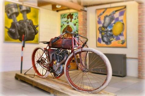 Hans Van Hilst mototfietsen