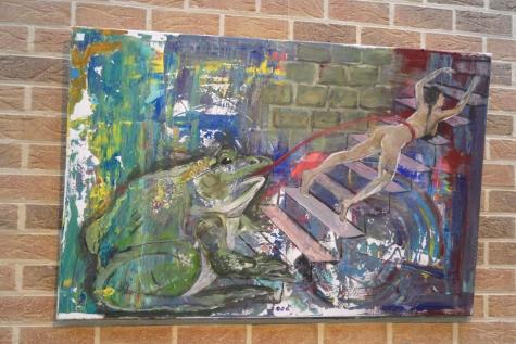 Kunst aan de gang gemeentehuis Lochristi