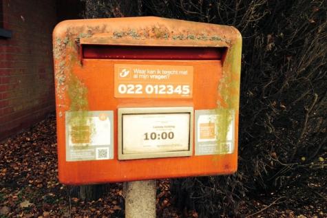 Iedereen facteur postbus
