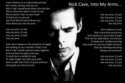 In de armen van je geliefde met Nick Cave