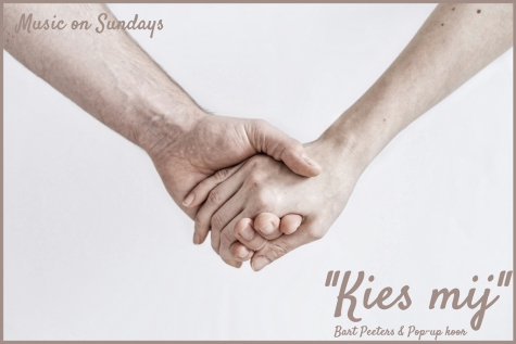 Music on Sundays - Kies mij - Bart Peeters & Pop-Up koor