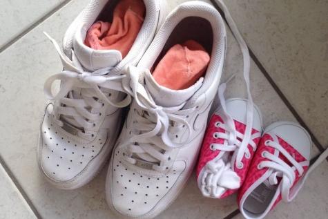 schoen groot en klein