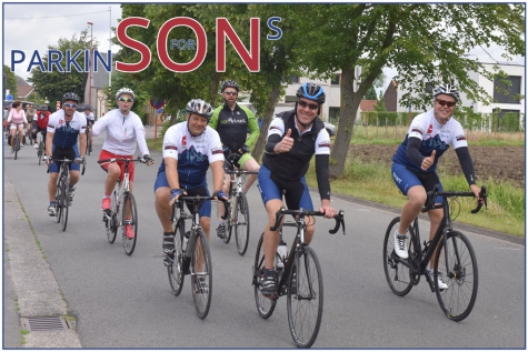 Sons for Parkinson Lochristi Laatste trainingsrit