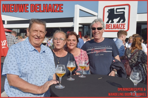 Opening nieuwe Delhaize Lochristi