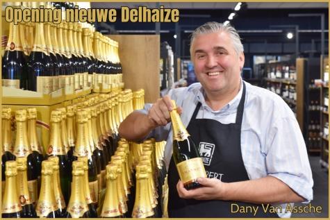 Opening nieuwe Delhaize Lochristi - Dany Van Assche