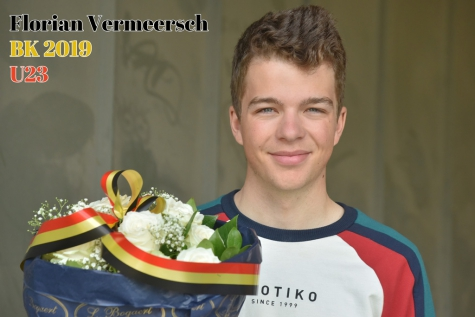 Florian Vermeersch Belgisch kampioen