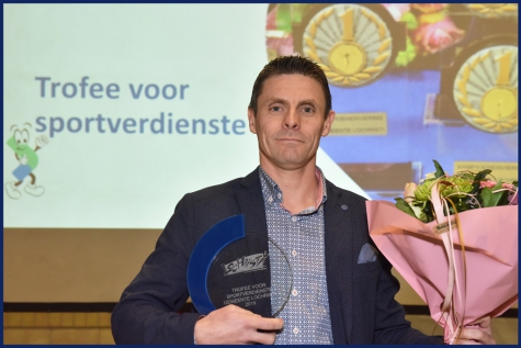 Trofee sportverdienste Lochristi Christophe De Waele