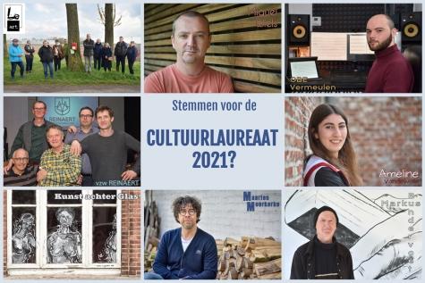Stemmen cultuurlaureaat 2021 - © Bennie Vanderpiete