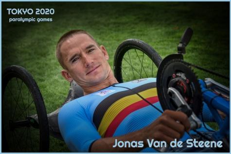 Jonas Paralympics Wegrit - © Bennie Vanderpiete