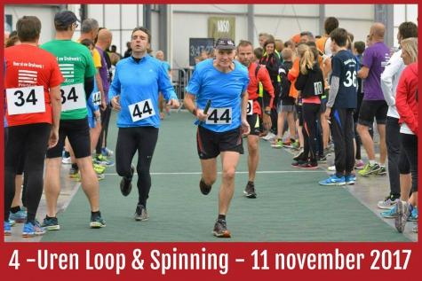 4 urenloop Lochristi op 11 november 2017