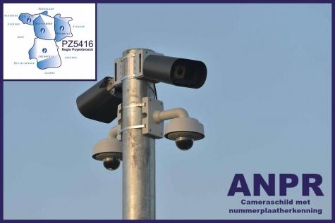 Lochristi ANPR-cameraschild