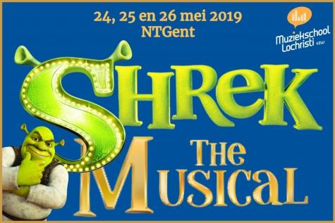 Shrek Muziekschool Lochristi