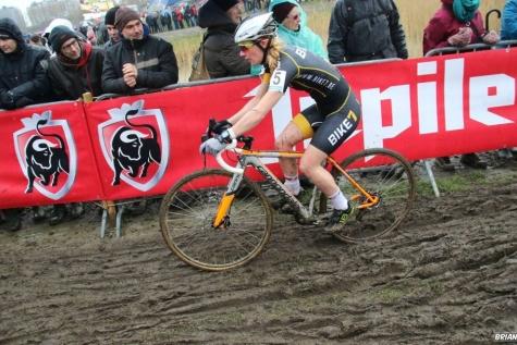 Alicia Franclk WK cyclocross Bieles