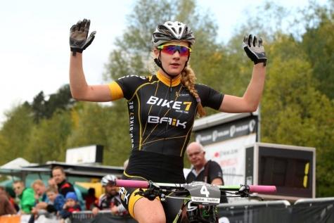 Alicia Franck MTB seizoen 2015