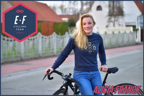 Alicia Franck Nieuwe ploeg