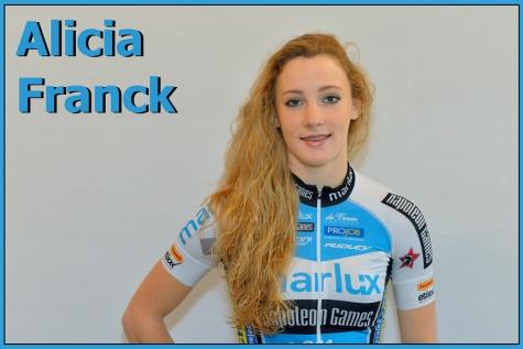 Alicia Franck veldrit Gavere