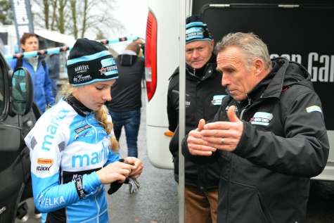 Alicia Franck met Danny De Bie