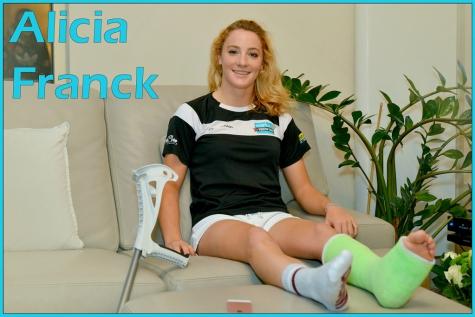 """Alicia Franck: """"Ik rijd dit seizoen nog wedstrijden"""""""