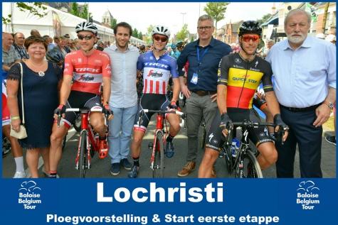 Massale opkomst voor Belgium Baloise Tour, Coquard wint eerste rit!