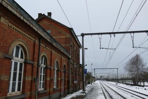 uurregeling station Beervelde