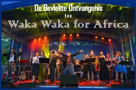 Benefit concert Waka Waka for Africa De Bevlekte Ontvangenis
