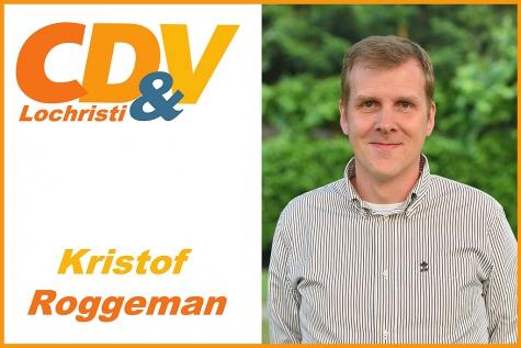 Kristof Roggeman voorzitter CDV Lochristi