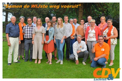 CDV Lochristi gemeenteraadsverkiezingen 2018
