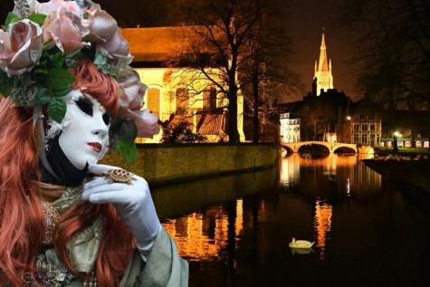 Venetiaans Carnaval in het Venetië van het noorden