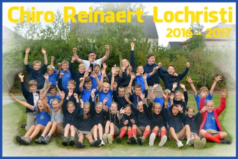 Chiro Reinaert Lochristi dit jaar met 261 kinderen