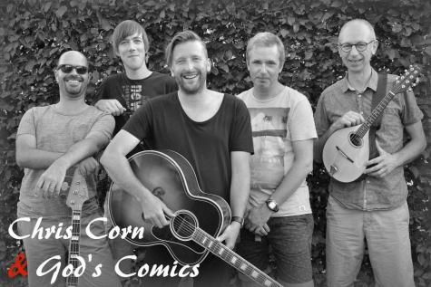 Chris Corn God's Comics
