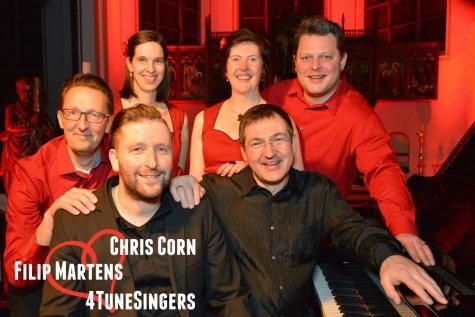 Valentijnsbetovering met Chris Corn, Filip Martens en 4TuneSingers