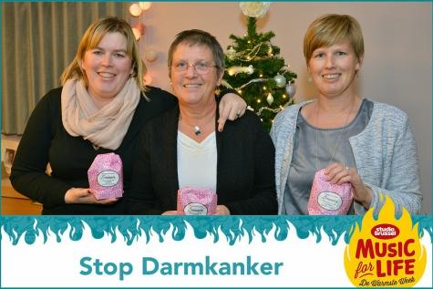"""Cookies for Life: bakken voor """"Stop Darmkanker"""""""