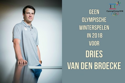 Skiër Dries Van den Broecke niet naar PyeonChang