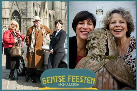 """Gentse Feesten 2016 """"Gent is de Limit"""" met Carine Stevens en Franse Chansons"""