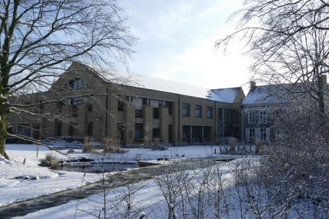 gemeentehuis Lochristi winter
