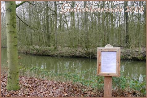 gedichtenroute 2019 Puyenbroeck Wachtebeke