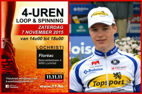 4-urenloop Lochristi Gijs Van Hoecke