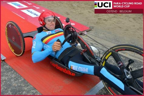 BREAKING: Jonas Van de Steene schittert op WB in Oostende met zilver en brons