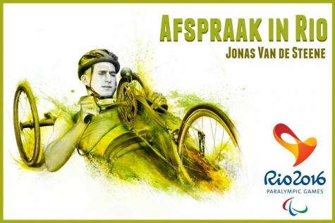 Jonas Van de Steene handbiker Paralympics 2016