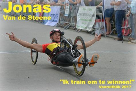 """Jonas Van de Steene: """"Ik train om te winnen""""!"""