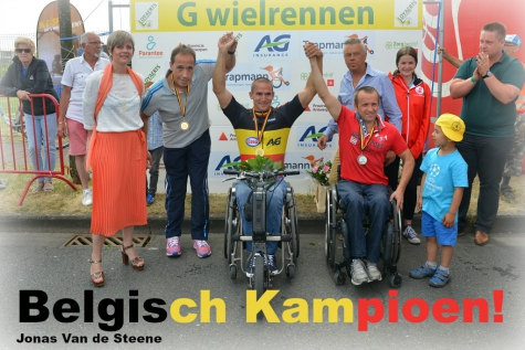 Jonas Van de Steene Belgisch Kampioen