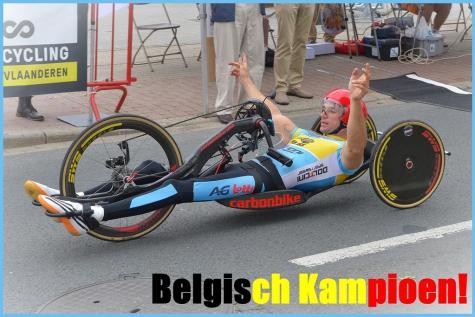 Jonas Van de Steene Belgisch kampioen 2018 Derune