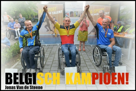 Jonas Van de Steene Belgisch kampioen!