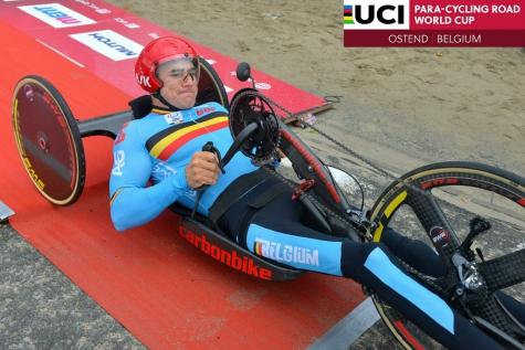 Jonas Van de Steene WB Oostende Handbiken