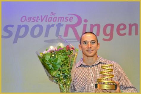 Jonas Van de Steene laureaat Oost-Vlaamse SportRing!