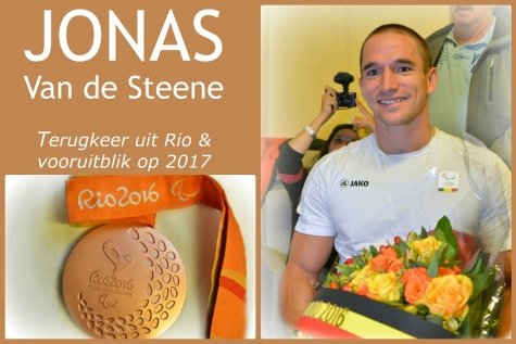 Jonas Van de Steen terug uit Rio